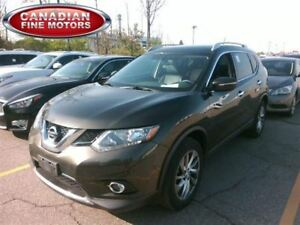 2014 Nissan Rogue AWD SL-LEATHER-PANO-CAM