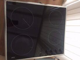 Zanussi Electric Ceramic-Glass Hob ZKF641X With Original Manual