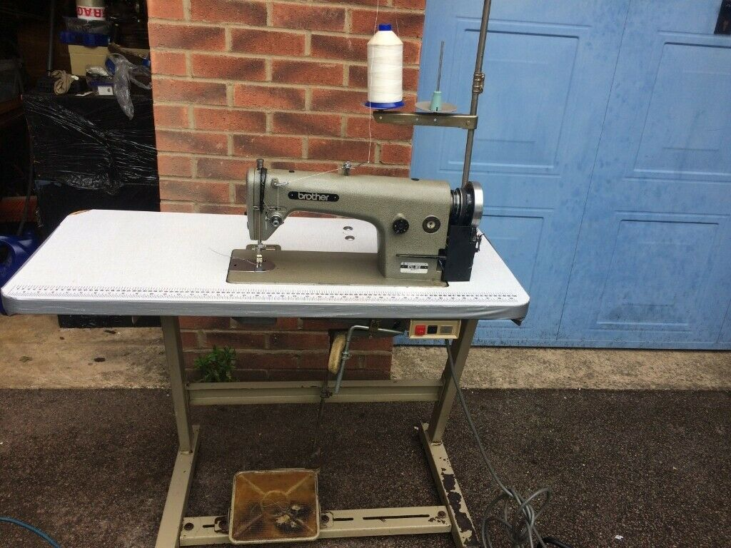 release date: f7da5 e3762 Brother DB755 Mark 2 Industrial Sewing Machine FOR CURTAINS*HORSE RUGS*  LEATHER, CANVAS, TENTS | in Kettering, Northamptonshire | Gumtree