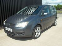 2004 (54) Ford Focus C-Max 1.6 TDCi Zetec 5dr Diesel, 3 Keys, May Px