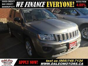 2012 Jeep Compass Sport/North AWD LOADED