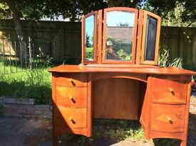 Solid Wood Dressing Table Excellent Condition, hardly any marks or scratches.