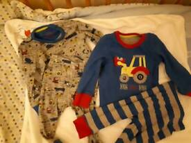 Mothercare pyjamas; 9-12 months