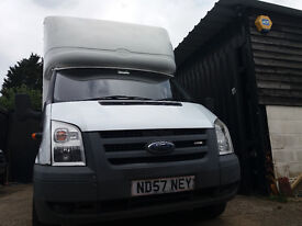 FORD TRANSIT 350 2.2 TDCI 110 EF LWD (White) Clean great drive van