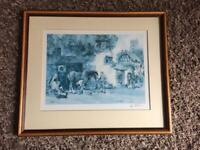 """Picture frame. 19.5""""x 17"""" approx."""
