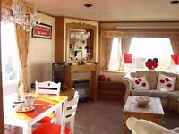 CARAVAN FOR HIRE,RED LOIN CARAVAN PARK,ARBROATH,2 BEDROOM CARAVAN,SEA VIEWS,NEAR SHOP AND BUS STOP