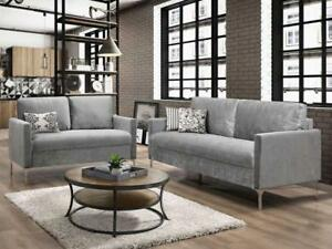 Modern Velvet Sofa and Love seat (KA201)