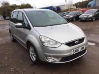 2007 (07) FORD GALAXY 1800 GHIA TDCI 6 SPEED DIESEL 7 SEATER FULLY LOADED