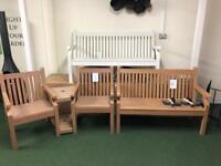 Winnawood composite garden bench