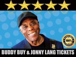 Discounted Buddy Guy & Jonny Lang Tickets    Last Minute Delivery Guaranteed!