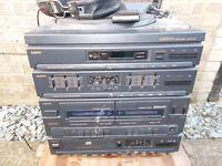 Sanyo stereo system