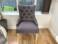 Next occasional grey chair