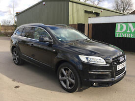 2007 AUDI Q7 S-LINE 3.0 TDI WITH FULL SERVICE HISTORY