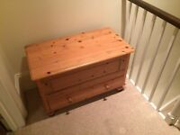 Large Wooden Chest - great condition