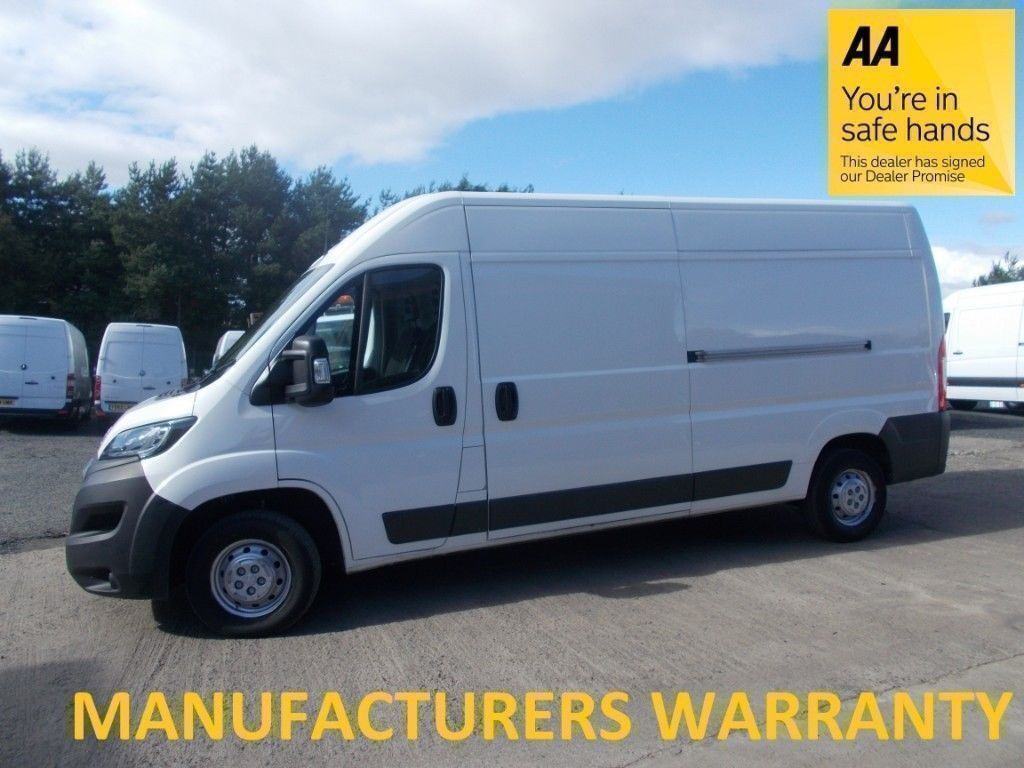 Peugeot Boxer 335 2.2 Hdi 130 L3H2 Professional**ONLY 55K MILE*LEASE Co  DIRECT*FULL SERVICE HISTORYT