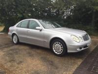Mercedes-Benz E Class 3.2 E320 TD CDI 2003.. ONLY DONE 98K FROM NEW WITH PAN ROOF