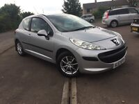 57 PLATE PEUGEOT 207 HDI 1.6 (diesel) - FULL YEAR MOT / CHEAPEST TO RUN/ ROAD TAX ONLY £30 PER YEAR