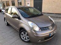 Nissan Note 1.6 16v Tekna 5dr*AUTOMATIC*2 OWNERS,FULL SERVICE,2 KEYS,NEW MOT,HPI CLEAR