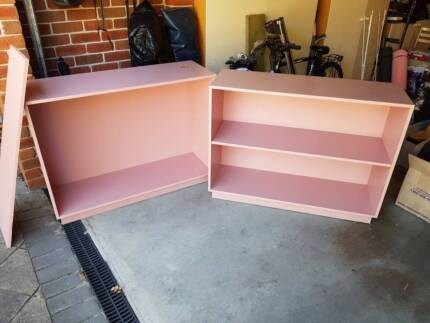 Shelves Pink Book Case Display Units