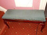 Antique piano stool H &A.G Alexander co Welbilt