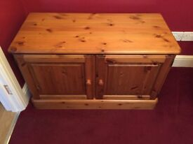 DUCAL low pine cabinet in good condition
