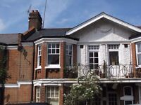 Spacious three double bedroom apartment with large kitchen / dining area/sitting room/private garden