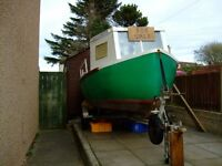 Don Fisher 16ft work boat & other boat stuff