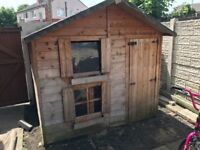 Wooden 2 story playhouse