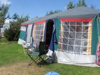 Raclet Trailer Tent 4-8 Berths
