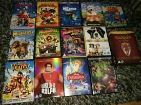 Children's DVD film bundle