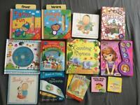 Selection of baby/kids books x15