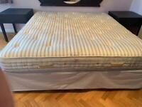 Super king size divan bed and mattress