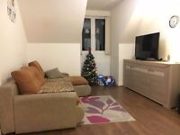 Modern one-bedroom unfurnished flat close to town centre
