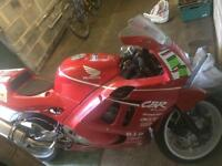 Honda cbr600 f2 track/race bike