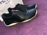ded397a5fef 100% genuine men s size 8.5 prada trainers