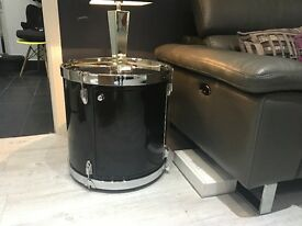 Drum lamp/side table - BRAND NEW AND BOXED