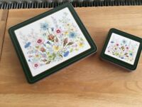 6 ANSLEY PLACE MATS & COASTERS