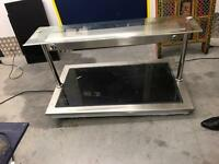 Pizza buffet display hot plate