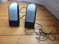 Nice looking Logitech PC/laptop speakers