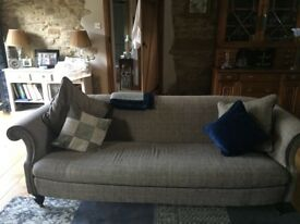 Harris Tweed 3 seater sofa from Sofas & Stuff. 3 years old from a smoke free home. Great condition.