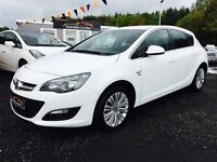2014 Vauxhall Astra Finance available 12 Months warranty, 2 Years FREE MOT