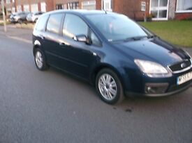 FORD FOCUS C-MAX.. GHIA 1.8cc. FULL M.O.T. AND FULL SERVICE HISTORY.