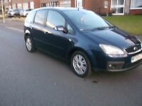 FORD FOCUS C- MAX.. GHIA 1.8cc. FULL M.O.T. AND FULL SERVICE HISTORY.