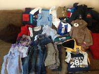 Massive bundle baby clothes 12-18 Months. Next bluezoo junior j etc