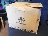 Sega dreamcast boxed Steering Wheel