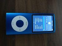 Apple iPod Nano 16GB Blue 4th Generation