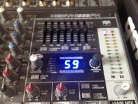 DJ CDJ's and Mixer in Flight Case
