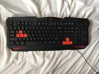 Gaming keyboard - Red dragon