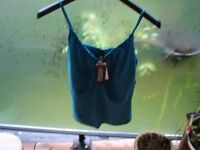 Aqua Cami Top==large---Brand new with tags!