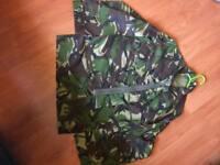 Genuine Army. Woodland Camoflauge light weight Jacket/shirt 160/88